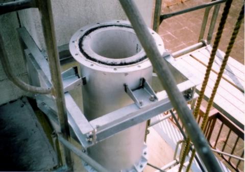 内部成型ライニング煙突